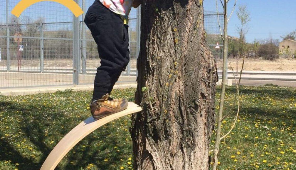Alex escalando