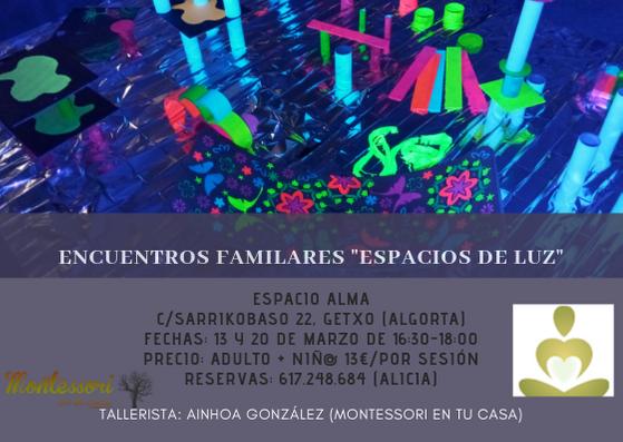 ENCUENTROS FAMILARES _ESPACIOS DE LUZ