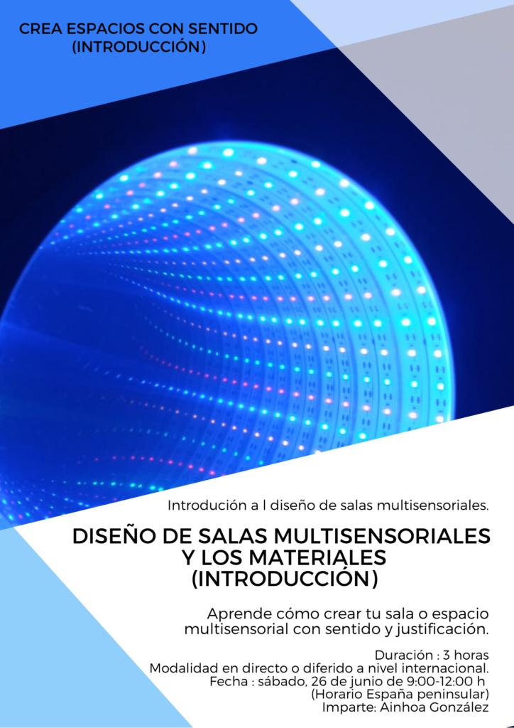 Salas multisensoriales y los materiales Introductorio